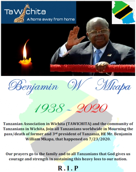 HE Benjamin W Mkapa, the late